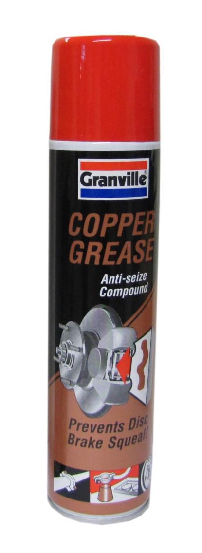 Picture of Copper Grease(300ml Aerosol) Granville Brand (300ml)