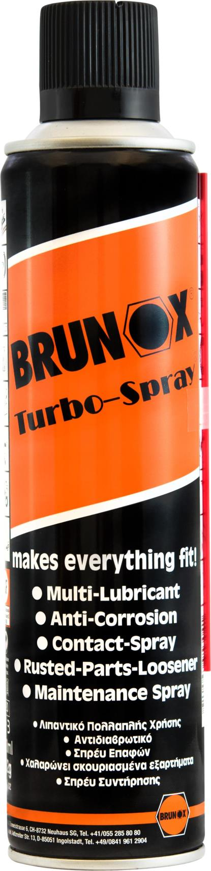 Picture of Brunox Turbo Spray(Multi-Function Spray) (400ml)
