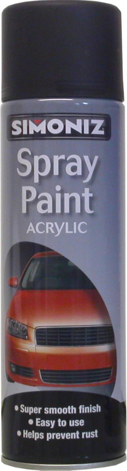 Picture of Simoniz Black Matt Acrylic (500ml)