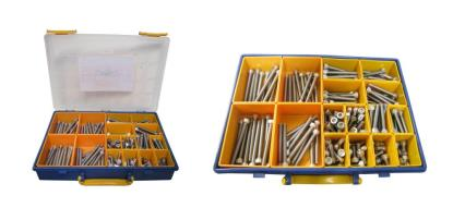 Picture of Screws Allen Kit 8mm x 12mm to 85mm Stainless Steel (Kit)