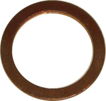 Picture of Washers Copper 12mm x 16mm x 1.5mm (Per 50)