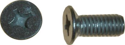 Picture of Screws Countersunk 6mm x 20mm(Pitch 1.00mm) (Per 100)