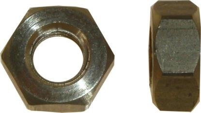 Picture of Nuts Brass 8mm (13mm Spanner)(Pitch 1.25mm) (Per 20)