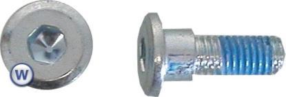 Picture of Bolts Disc Allen 8mm x 18mm Honda 8mm Allen, 16mm Diameter (Per 10)