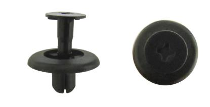Picture of Fairing Clip Push Rivet Type 6mm hole with Head 18mm, Black (Per 10)