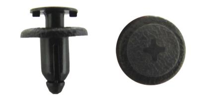 Picture of Fairing Clip Push Rivet Type 6mm hole with Head 14mm, Black (Per 10)