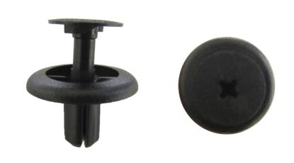 Picture of Fairing Clip Push Rivet Type 6mm hole with Head 20mm, Black (Per 10)