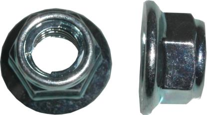 Picture of Drive Sprocket Rear Nut for 1969 Suzuki T 305 'Raider' (2T) (Twin)