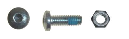 Picture of Bolts Rear Sprocket 10mm x 25mm Dome Head, Countersunk & Nut (Per 6)