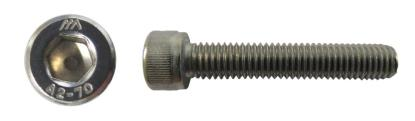 Picture of Screws Allen Stainless Steel 8mm x 30mm(Pitch 1.25mm) (Per 20)