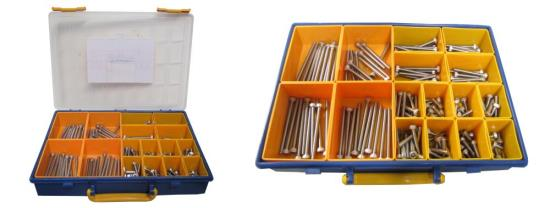 Picture of Screws Allen Kit 6mm x 12mm to 85mm Stainless Steel (Kit)