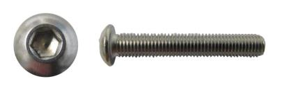 Picture of Screws Button Allen Stainless Steel 8mm x 70mm(Pitch 1.25mm) (Per 20)