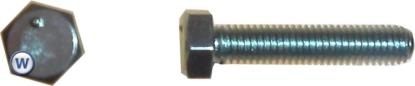 Picture of Bolts Hexagon 5mm x 25mm (8mm Spanner Size)(Pitch 0.80mm) (Per 20)