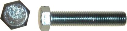 Picture of Bolts Hexagon 10mm x 25mm (14mm Spanner Size)(Pitch 1.25mm) (Per 20)