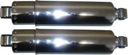 """Picture of Shocks Harley Davidson 12"""" 300mm Chrome Covers (Pair)"""