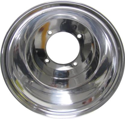 Picture of ATV Wheel Standard Lip 9x8, 3+5, 4/110, 10.5 Polished