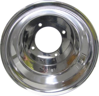 Picture of ATV Wheel Rolled Edge 9x8, 3+5, 4/110, 10.5 Polished