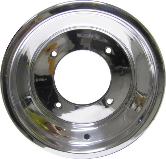 Picture of ATV Wheel Rolled Edge 10x5, 3+2 3.77+1.23, 4/156, 10.5 Polished