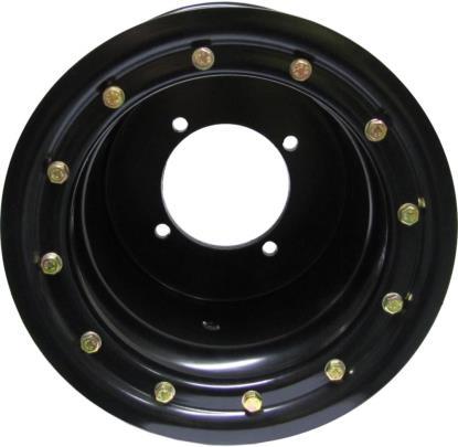 Picture of ATV Wheel Single Beadlock 9x8, 3+5, 4/110, 10.5 Black