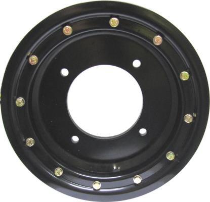 Picture of ATV Wheel Single Beadlock 10x5, 4+1, 4/156, 10.5 Black