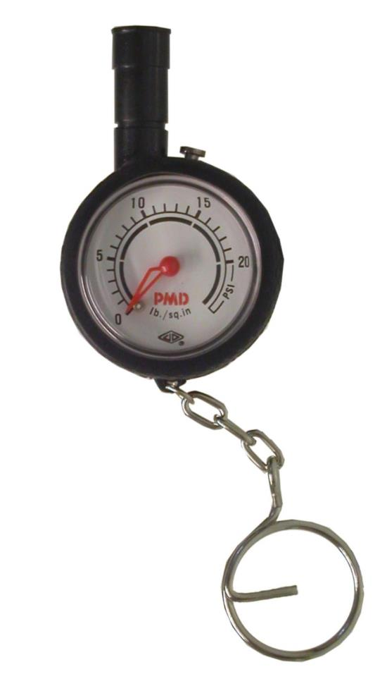 Picture of Angle Head Low Pressure With Gauge 1 to 20 PSI