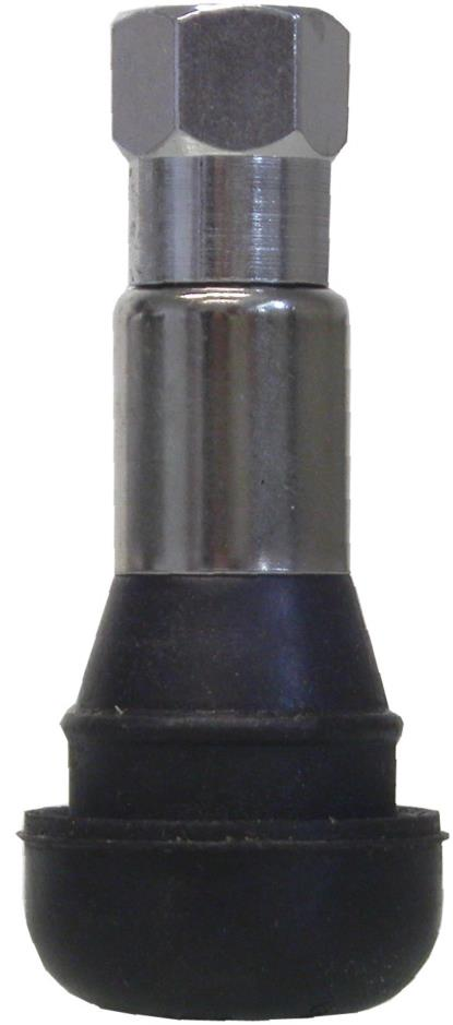 Picture of Tubeless Valve Rubber & Chrome (Per 5)