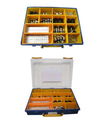 Picture of Tyre Accessories Kit including valves, weights, caps & tools (Kit)