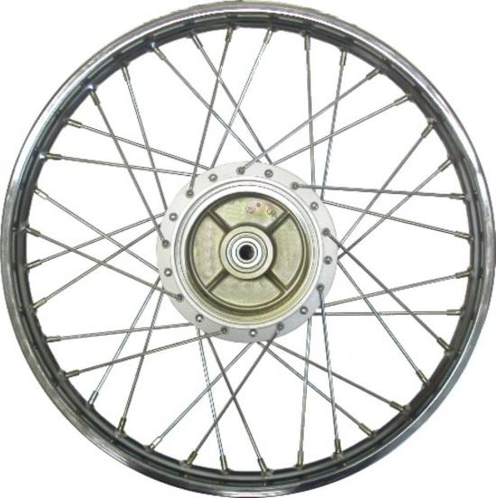 Picture of Front Wheel C90 up to 1987 Pre Cub (Rim 1.40 x 17) 12mm