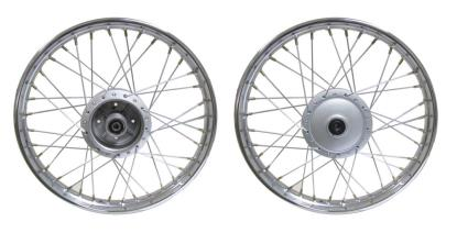 Picture of Front Wheel only C50, C70, C90 Style (Rim 1.20 x 17)