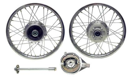 Picture of Rear Wheel XL125R style drum brake with (Rim 1.60 x 18)
