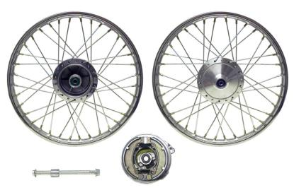 Picture of Front Wheel XL125R style drum brake (Rim 1.40 x 18)