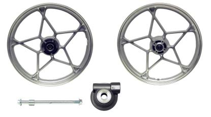 Picture of Front Wheel GS125 disc brake aluminum (Rim 1.60 x 18)