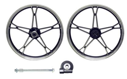 Picture of Front Wheel GN125 disc brake aluminum (Rim 1.60 x 18)