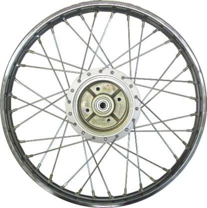 Picture of Rear Wheel T80 drum brake, (Rim 1.40 x 17)