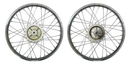 Picture of Rear Wheel V80, FS1E drum brake with cush drive rubber (Rim 1