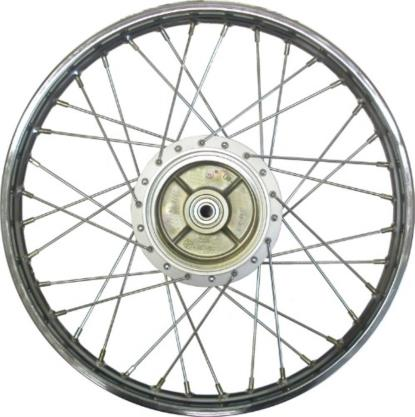 Picture of Front Wheel V80, FS1E drum brake with NO speedo cog drive (Ri