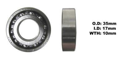 Picture of Bearing Koyo 6003(I.D 17mm x O.D 35mm x W 10mm)