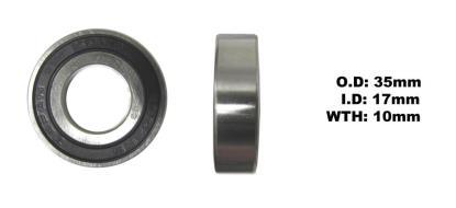 Picture of Bearing Koyo 6003DDU(I.D 17mm x O.D 35mm x W 10mm