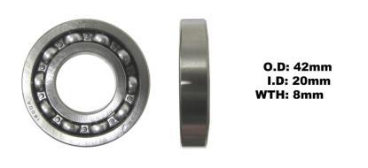 Picture of Bearing Koyo 6004 Thin(I.D 20mm x O.D 42mm x W 8mm)