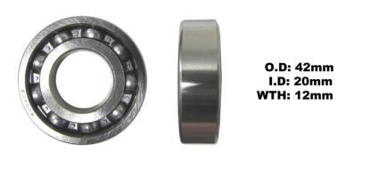 Picture of Bearing Koyo 6004(I.D 20mm x O.D 42mm x W 12mm)