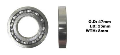 Picture of Bearing Koyo 6005 Thin(I.D 25mm x O.D 47mm x W 8mm)