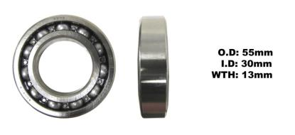 Picture of Bearing Koyo 6006(I.D 30mm x O.D 55mm x W 13mm)