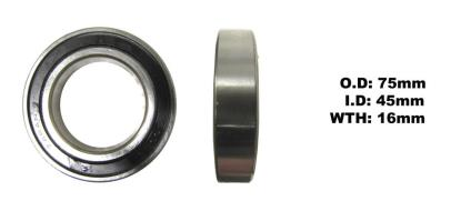 Picture of Bearing Koyo 6009DDU(I.D 45mm x O.D 75mm x W 16mm)
