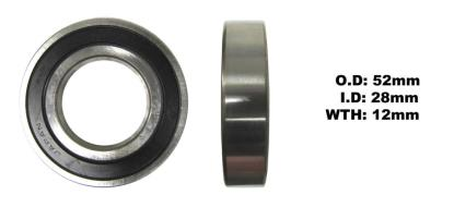 Picture of Bearing Koyo 60/28DDU(I.D 28mm x O.D 52mm x W 12mm)