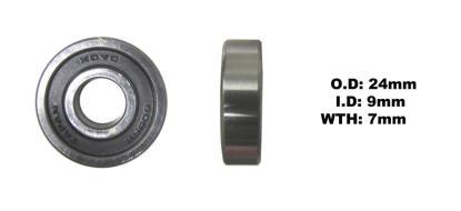 Picture of Bearing Koyo 609ZZ(I.D 9mm x O.D 24mm x W 7mm)