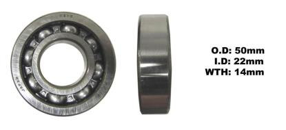 Picture of Bearing Koyo 62/22(I.D 22mm x O.D 50mm x W 14mm)