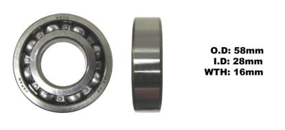 Picture of Bearing Koyo 62/28(I.D 28mm x O.D 58mm x W 16mm)
