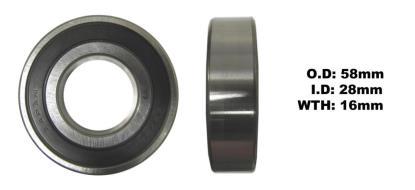 Picture of Bearing Koyo 62/28DDU(I.D x 28mm x O.D 58mm x W 16mm)