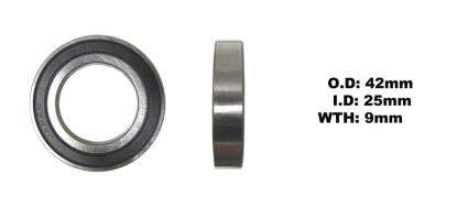 Picture of Wheel Bearing Rear R/H for 2011 Suzuki RM-Z 250 L1 (4T)