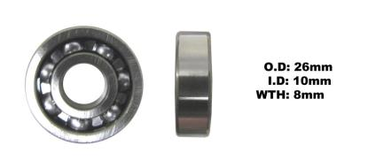 Picture of Bearing NTN 6000 (I.D 10mm x O.D 26mm x W 8mm)